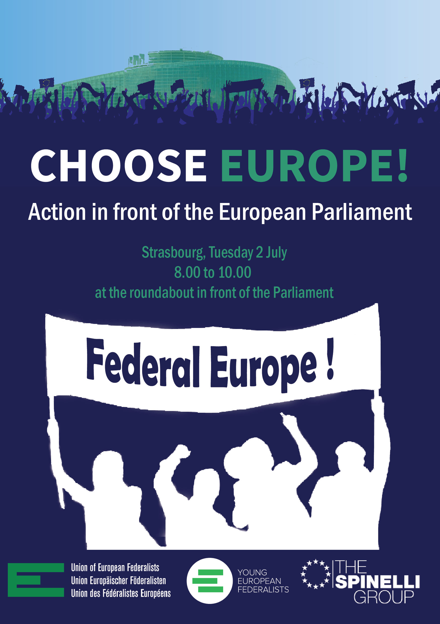 Union of European Federalists (UEF): Citizens' Agora Strasbourg